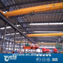 warehouse LD model single beam motor overhead crane10t