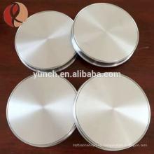 Precio de fábrica Puro Titanium Sputtering Target 99.99