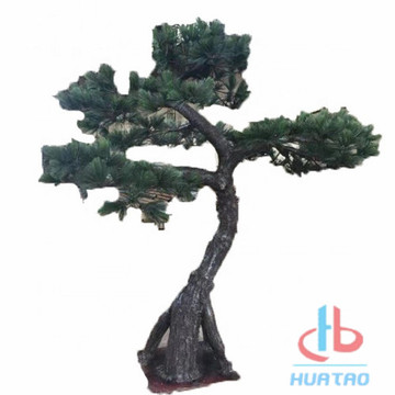 Albero di pino artificiale decorativo