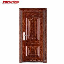 La puerta de acero barata de la marca TPS-083 utilizó la puerta de la fábrica de la puerta de la seguridad del metal directamente