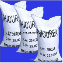 Высокое качество с использованием 99% мин тиомочевины / тиокарбамида