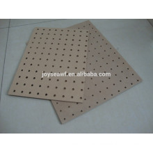Raw MDF with punched holes