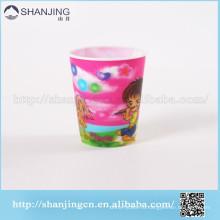 3D линзовидные подгонянные PP пластичная чашка кружка