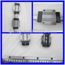 Trilho de guia linear com blocos Série BRH