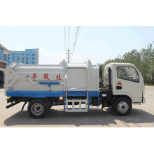 Automated side loader garbage truck