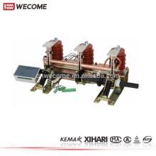 KEMA Testified Medium Voltage KYN28-24 Switchgear 20KV 2000A 40KA Earthing Switch with Motor