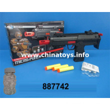 Cheap Plastic Toys Gun with Water Bullet, Soft Bullet (887742)