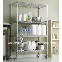 Ideal Restaurant Hotel Metal Catering Trolley (HD244872A4C)