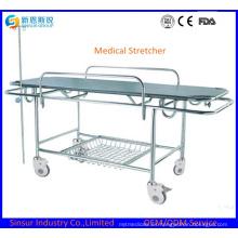 Camillas de transporte de hospital de emergencia multifunción de acero inoxidable