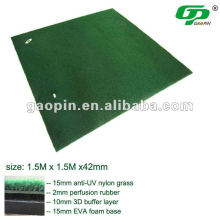 Good quality artificial grass golf mats range mat