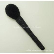 Nueva venta caliente del estilo para el cepillo cosmético del cepillo del doble 11 de la manija Kabuki cepillo