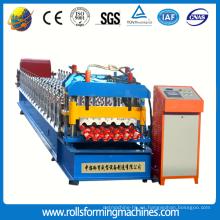 Máquina formadora de rollos, corte y corte
