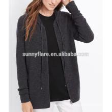 Suéter de cachemira elegante mujer cardigan