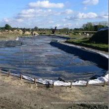 Membrane imperméable en caoutchouc d'EPDM / feuille en caoutchouc / matériaux de construction / revêtement de piscine d'EPDM / revêtement de bassin / toiture / jardin de toit avec l'OIN