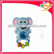 Lovely Baby Series Shaking Hand Bell Toy,Cute Cartoon Elephant Design Hand Bell