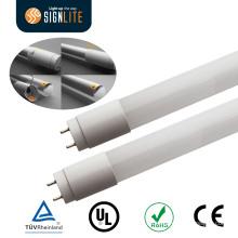 Luz de tubo LED rentable de 110lm / W 9W 2ft T8 de Dell Dlc