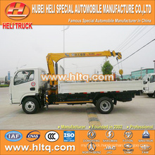 DONGFENG 4x2 3.2 tons crane small crane truck 95hp hot sale for export