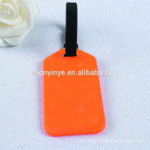 plastic aluminum luggage travel tag