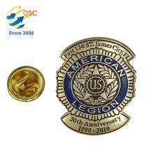 Kundenspezifisches Metall für Handwerks-Andenken-Emblem 3d