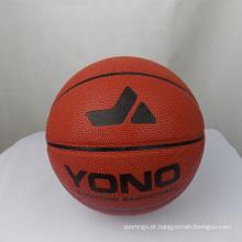YONO marca de alta qualidade clássico pu couro basquete personalizado basquete bola para treinamento