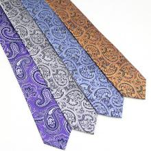 Chinesische Krawatten Lieferant Herren Großhandel Paisley Krawatte