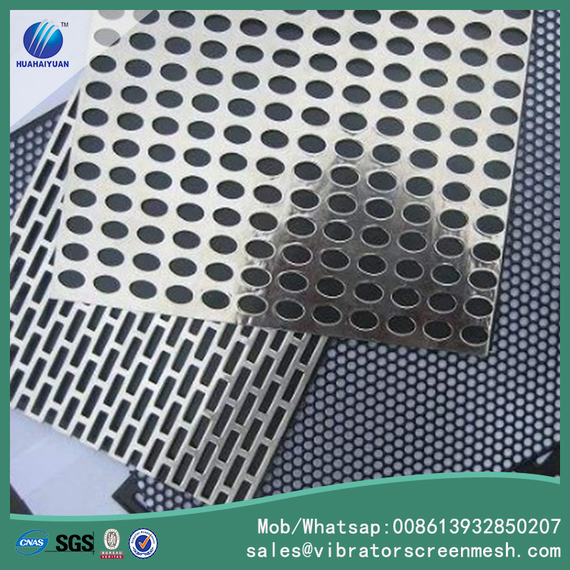 High Frequency Punched Sieve Mesh