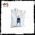 Novo tamanho fashional tamanho normal avaliado fornecedor saco de lona de algodão impressão do logotipo avaliado fornecedor saco de lona de algodão