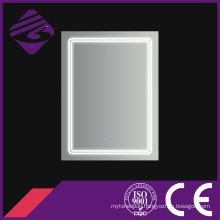 Rectangle LED Bathroom Chamfer Edge Mirror with Touch Screen