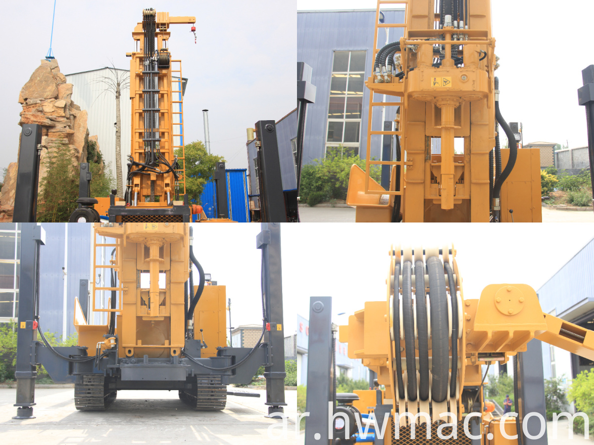 water well drilling rig wwe-600