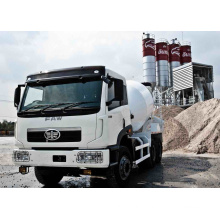 The Jiefang 6X4 336HP 6m3 Faw Concrete Mixer Truck