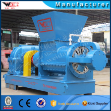 WEIJIN rubber helix crushing machine recycled plastic scrap cutting granules making machine
