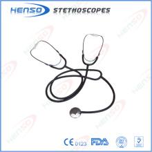 Stéthoscope d'enseignement, tête unique, double binaurals