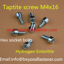 Hex Socket Taptite Bolts