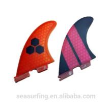 К 2015 году новейшие дизайн ФТС второй соты плавники серфинга плавники/ласты
