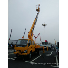 Telescopic aerial working platform truck with 28M height Insulating carrier and insulated arm