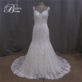 Sexy robe de mariée U-dos dentelle