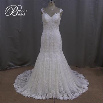 Sexy U-Back Bridal Dress Lace