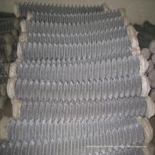 Cerca de Chainlink galvanizada Eletric da malha de 50mm * 50mm