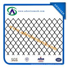 PVC revestido, galvanizado eletro galvanizado e quente galvanizado Chain Link Fence