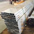 Tubo extrudado de alumínio decorativo grosso