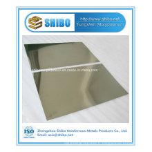 Feuille professionnelle de tungstène de fabricant professionnel avec la qualité exceptionnelle
