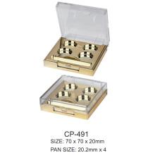 Caixa compacta de plástico quadrado Cp-491