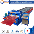 Adjustable Double Layer Profile Roof Roll Forming Machine