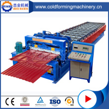 GI Double Layer Steel Roof Sheets Forming Machine