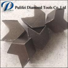Moagem de concreto e segmento de piso usado no moedor de piso HTC