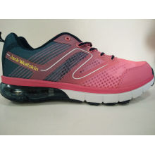 Women′s Pink Mesh Shoes Sneaker