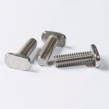 High Precision Metal Fasteners T head Bolt Screw