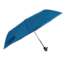 21'' blue windproof 3fold market umbrella material