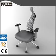 Fish Body Bone Design Ergonomic PU Office Chair