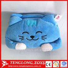 Housse de boîte en tissu décoratif pour chat mignon